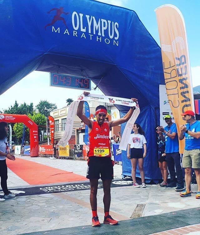 1º Olympus Marathon